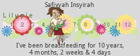 Lilypie Breastfeeding tickers